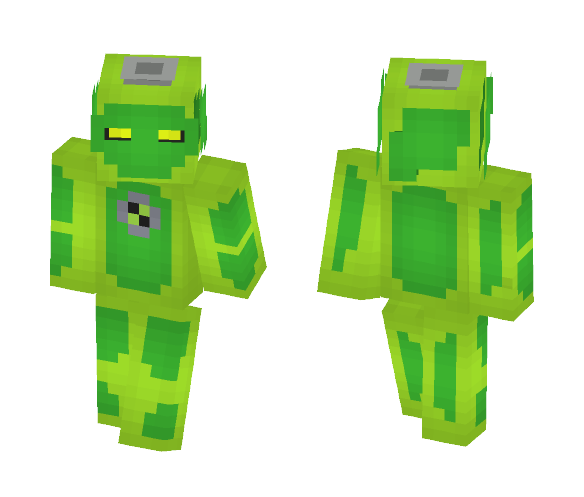 Download Goop - Ben 10 Alien Force Minecraft Skin for Free