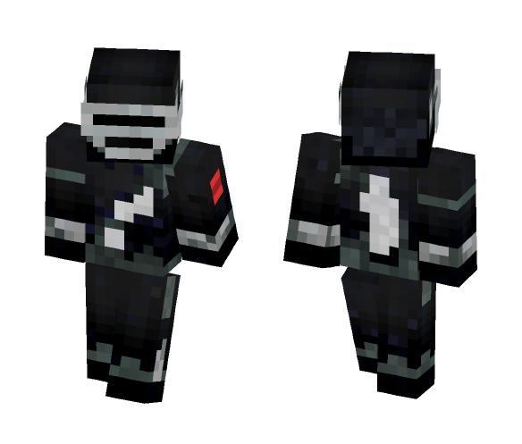 Classic Snake Eyes (G.I.Joe) - Male Minecraft Skins - image 1