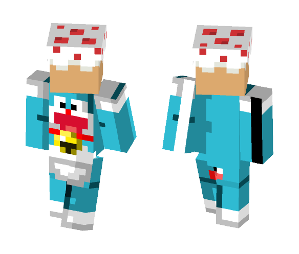 Inieloo | Doraemon ~requested~ - Male Minecraft Skins - image 1