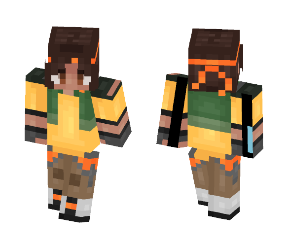 Hunk   (Casual + Paladin version) - Male Minecraft Skins - image 1