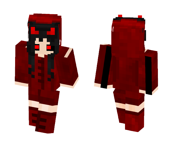 08da9424da0ac Download Red Devil Girl Minecraft Skin for Free. SuperMinecraftSkins