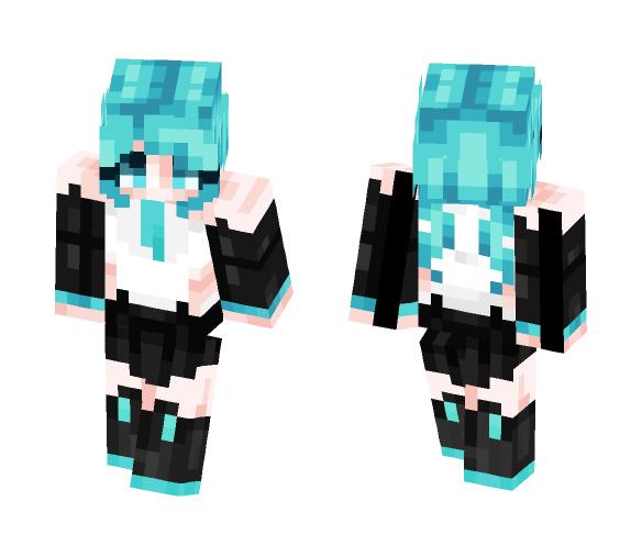 Download Hatsune Miku [Vocaloid] Minecraft Skin for Free