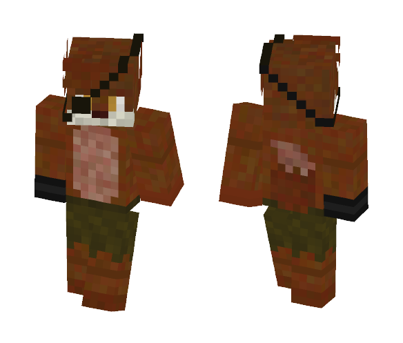 Top Five Five Nights At Freddy's Wolf Minecraft Skin - Circus