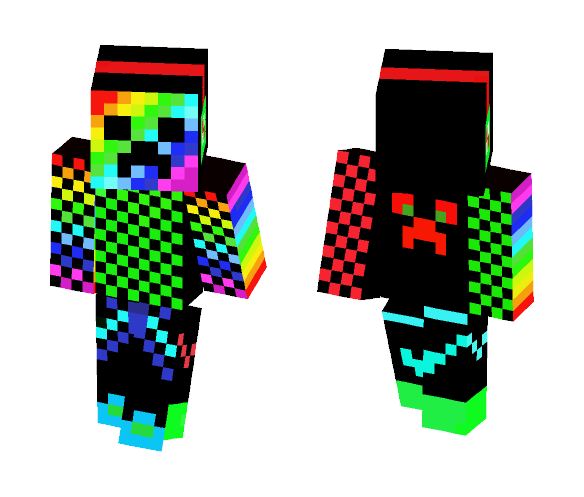 Download Nova Cool Creeper Minecraft Skin For Free Superminecraftskins