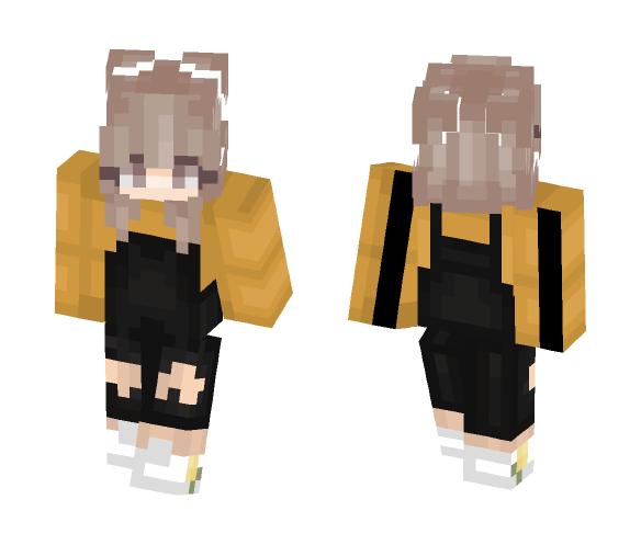 Pumpkin spice - Female Minecraft Skins - image 1