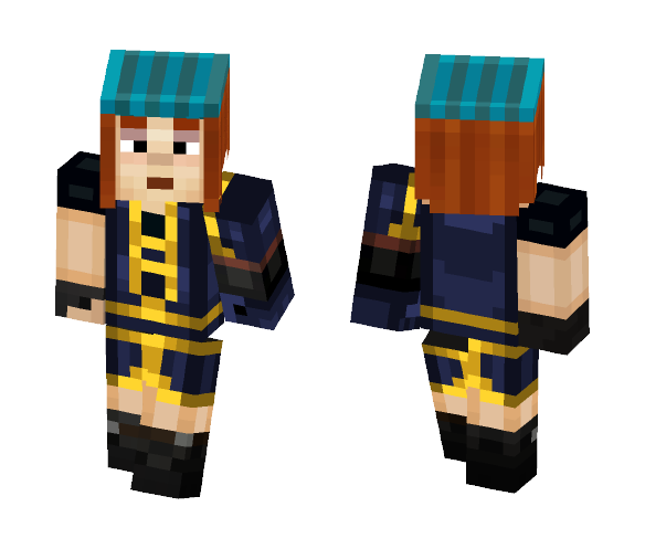 Petra (Season 2) - Female Minecraft Skins - image 1