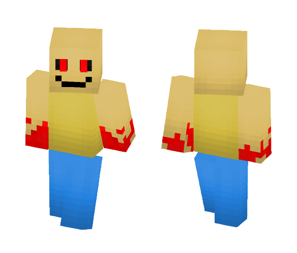Download Horror Series Roblox John Doe Minecraft Skin For Free