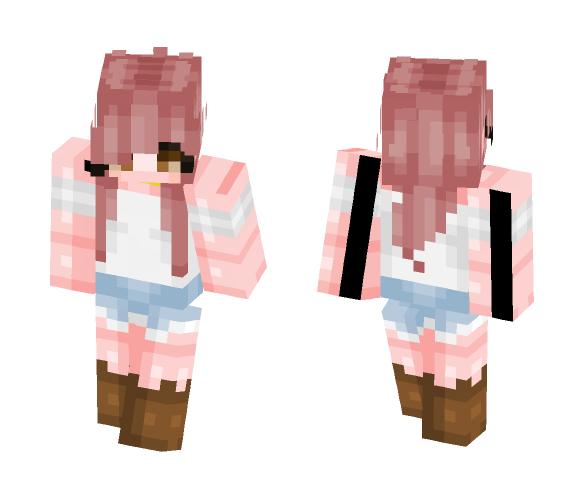 Pixel || Flowery fields - Female Minecraft Skins - image 1