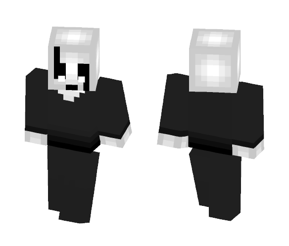 Gaster with no lab coat - Male Minecraft Skins - image 1