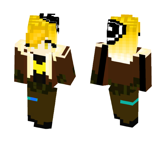 Download A Heart Of Gold Minecraft Skin For Free Superminecraftskins