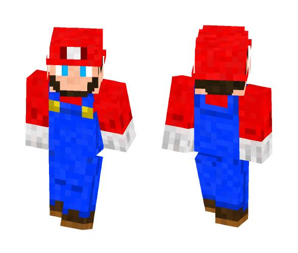Download Super Mario Bros : Mario Minecraft Skin for Free