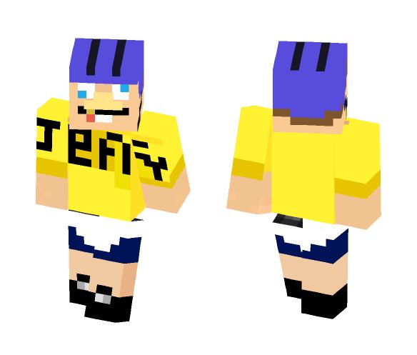 Download SML Jeffy - SuperMarioLogan Minecraft Skin for Free