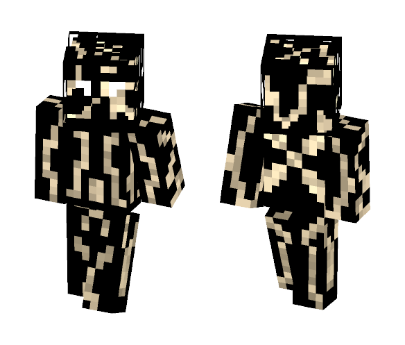 Corrupted specter - Male Minecraft Skins - image 1
