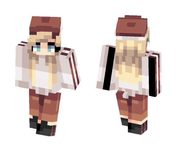 young dumb && broke - Female Minecraft Skins - image 1