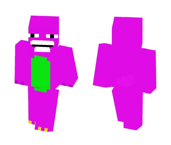 Download Barney The Weirdo Minecraft Skin For Free Superminecraftskins