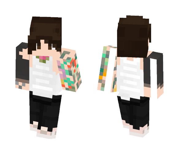 Oliver Sykes - Bring Me The Horizon - Male Minecraft Skins - image 1