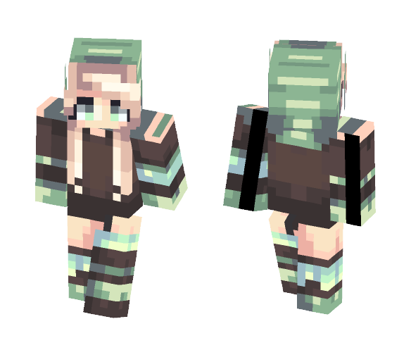 Chasing My Own Fears - Female Minecraft Skins - image 1