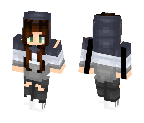 Weekends ¯_ • ᗜ • _/¯ - Female Minecraft Skins - image 1