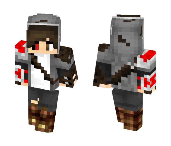 Gray hoodie - Male Minecraft Skins - image 1