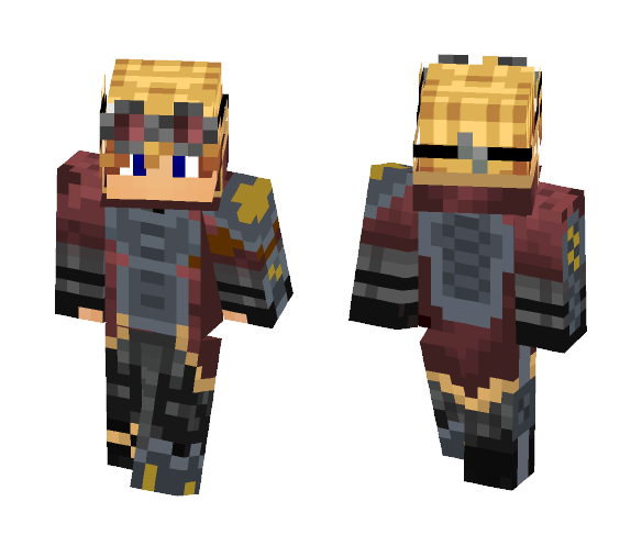 Guy with goggles - Male Minecraft Skins - image 1