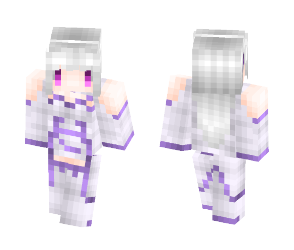 Download Emilia, the one I love    Minecraft Skin for Free