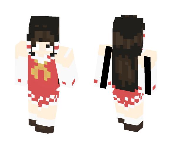Reimu Hakurei - Touhou - Female Minecraft Skins - image 1