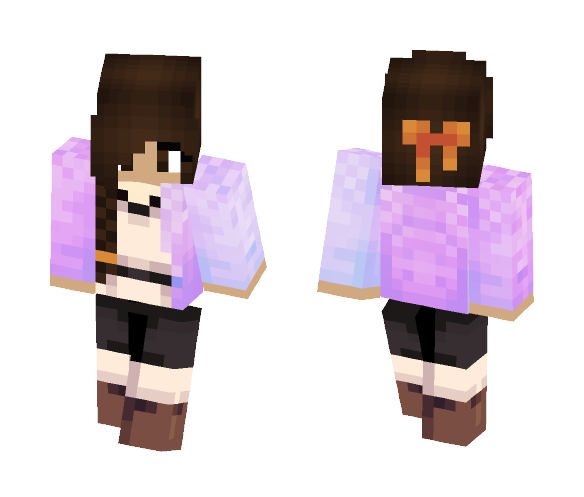 I'm only human. (Free to use) - Female Minecraft Skins - image 1
