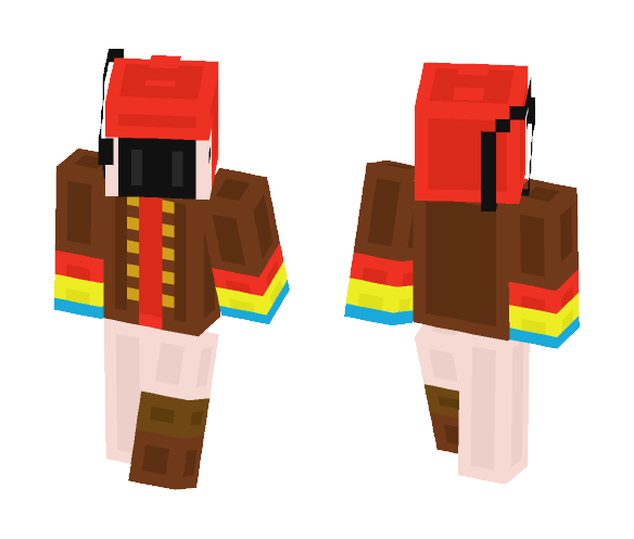 Download pirate parrot Minecraft Skin for Free