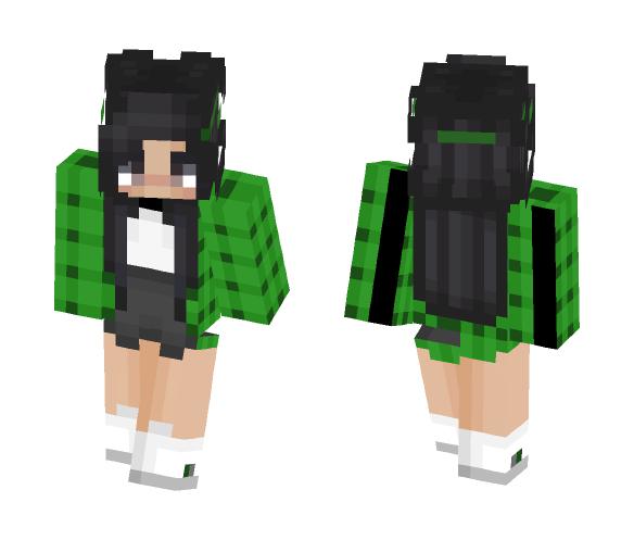 Slytherin Pride - Female Minecraft Skins - image 1