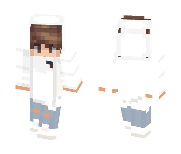 Download White Hot Boy Minecraft Skin For Free Superminecraftskins
