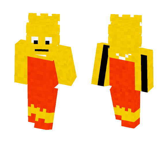 Lisa Simpson - Female Minecraft Skins - image 1