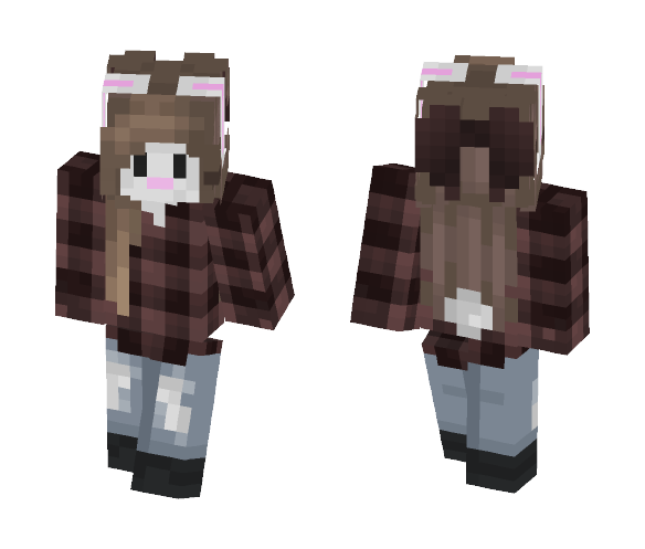 Download Bunny Girl Minecraft Skin For Free Superminecraftskins