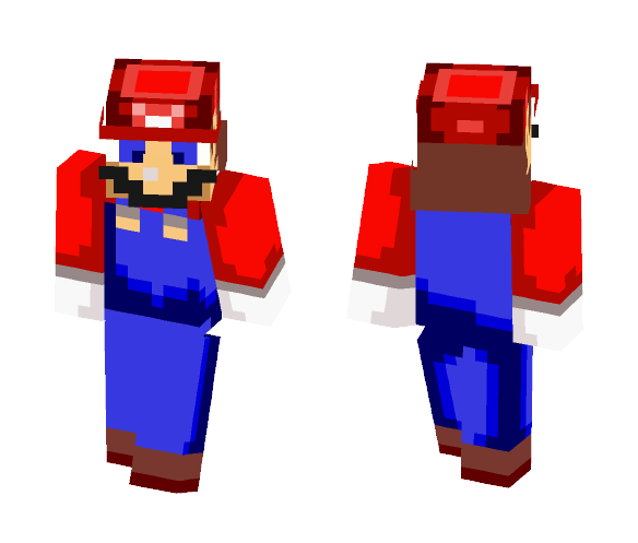 Mario - Super Mario RPG - Male Minecraft Skins - image 1