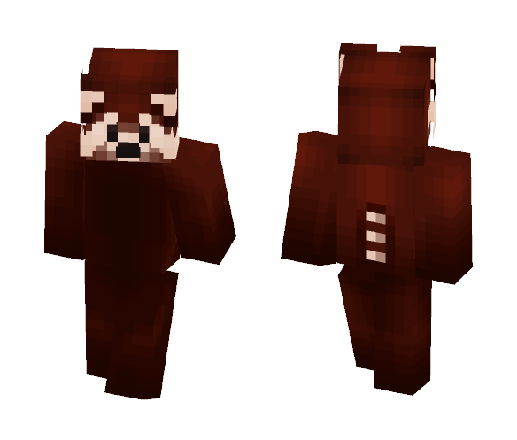 Download Red Panda Minecraft Skin For Free Superminecraftskins