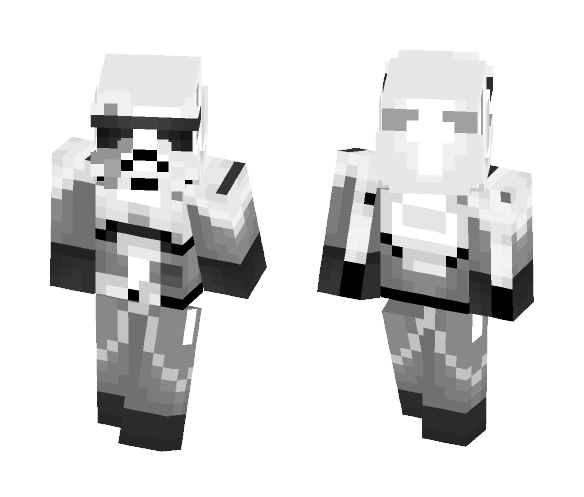Download First Order Walker Driver Minecraft Skin for Free