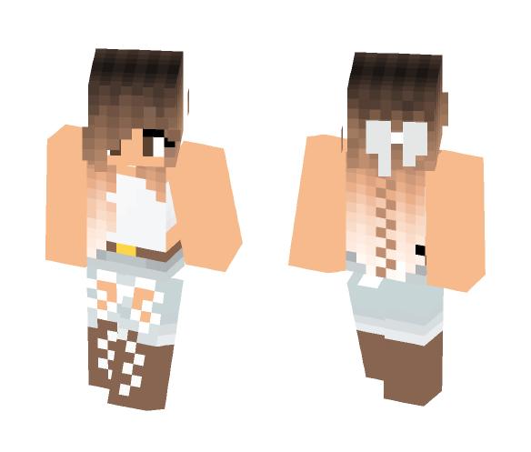 Download Cute Farm Girl Minecraft Skin for Free