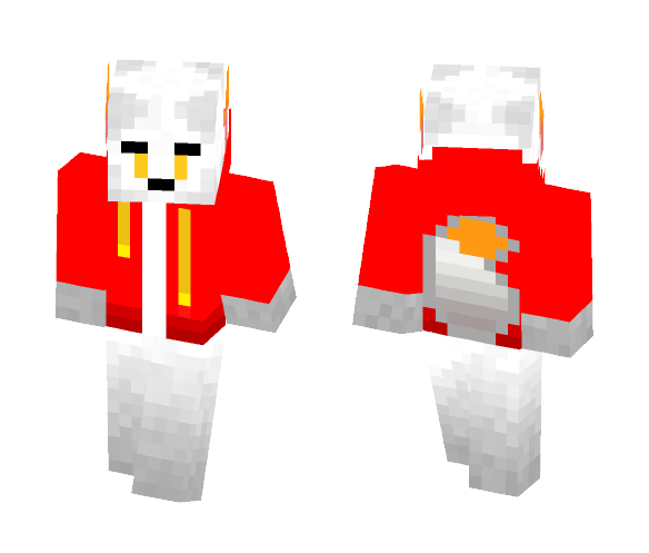 Download Stoke (my Fursona) Minecraft Skin for Free