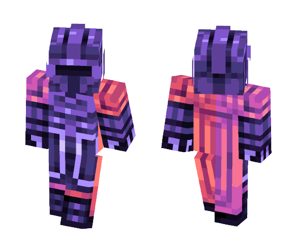 Minecraft Skins: Download Aesthetic Knight Minecraft Skin For Free