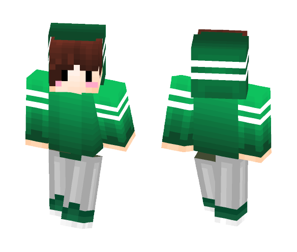Don't Mind Me In My Hoodie ♥~ - Male Minecraft Skins - image 1