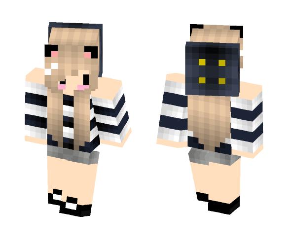 ~Cute Chibi Cat Girl~ - Cat Minecraft Skins - image 1