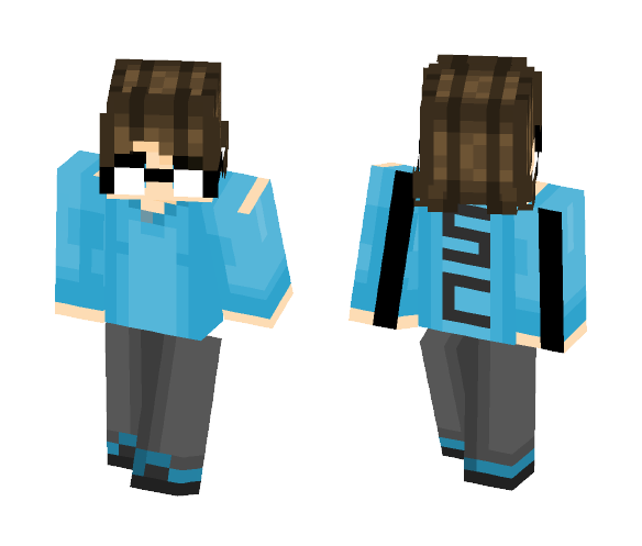 -edit- glasses are so hard to make - Male Minecraft Skins - image 1