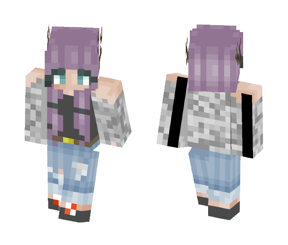 For Graypaw (I made her a skin) - Female Minecraft Skins - image 1