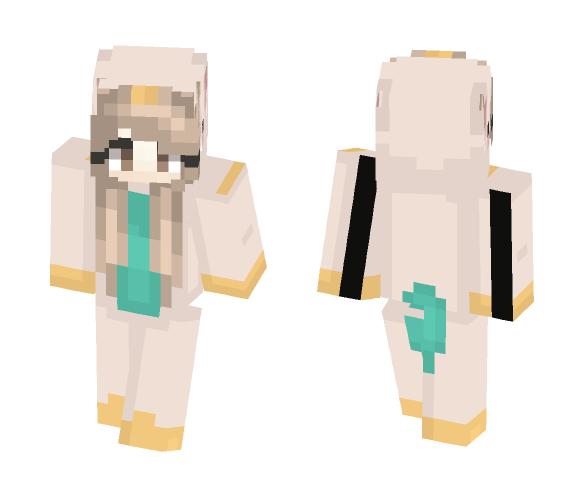 My Version of The Twinning Skin - Female Minecraft Skins - image 1