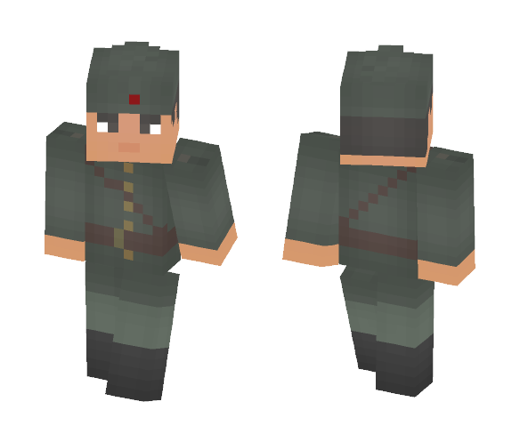 Yugoslav partisan officer - Male Minecraft Skins - image 1