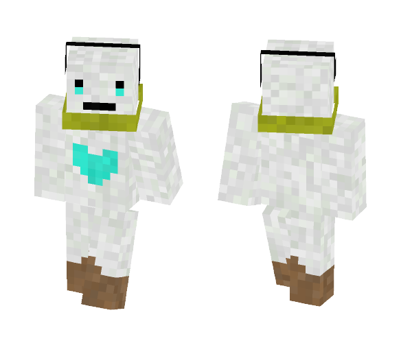 Snow Guy - By LuxrayBoy8 - Other Minecraft Skins - image 1