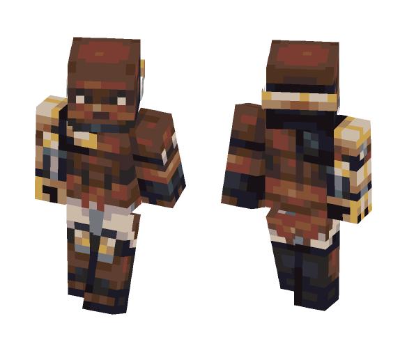 Doomfist - Male Minecraft Skins - image 1