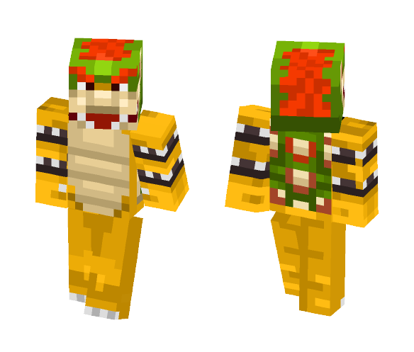 Bowser - Male Minecraft Skins - image 1