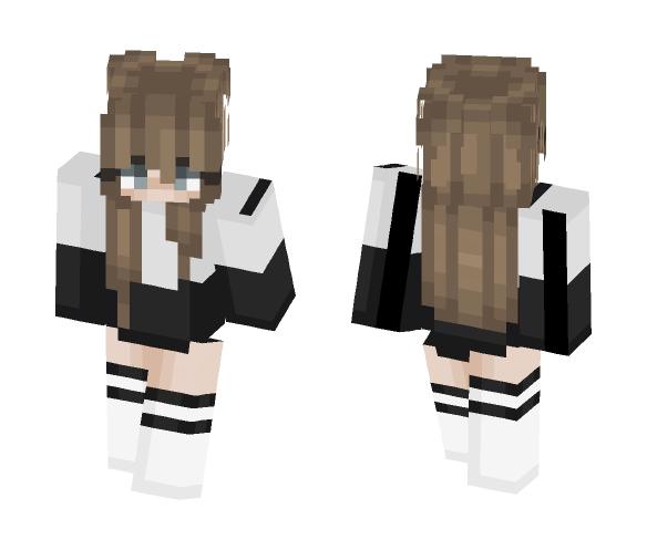 Gloomy grey - Female Minecraft Skins - image 1