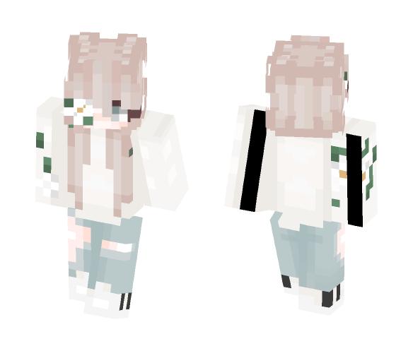Flowery summer - Female Minecraft Skins - image 1