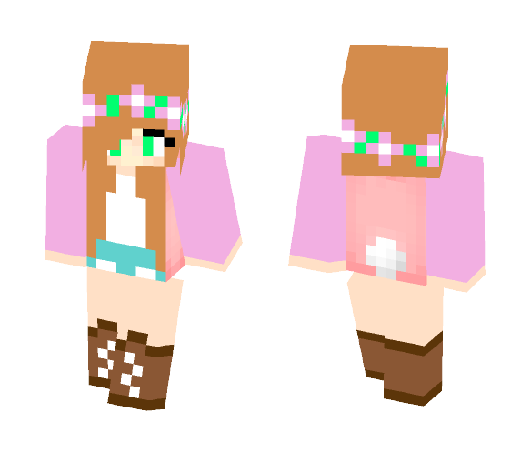 Little Kelly (Remake) - Female Minecraft Skins - image 1